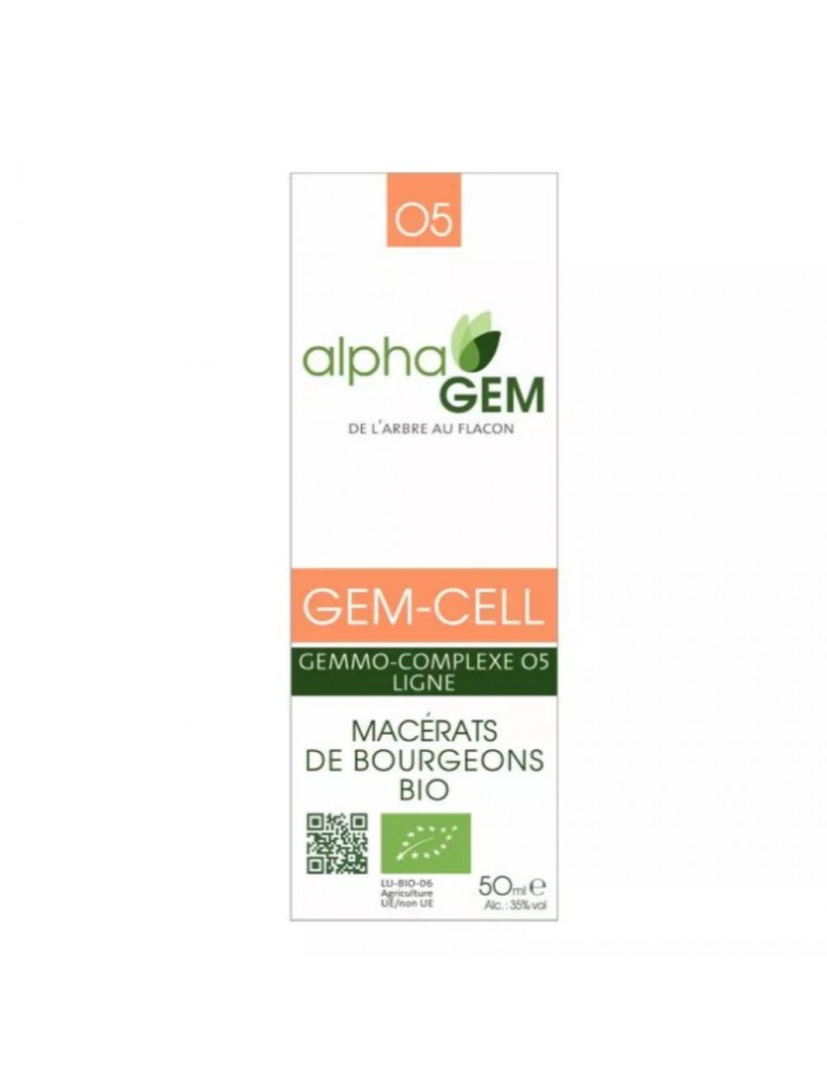 Gem-Cell Complexe n°05 Bio - Ligne 50 ml - Alphagem
