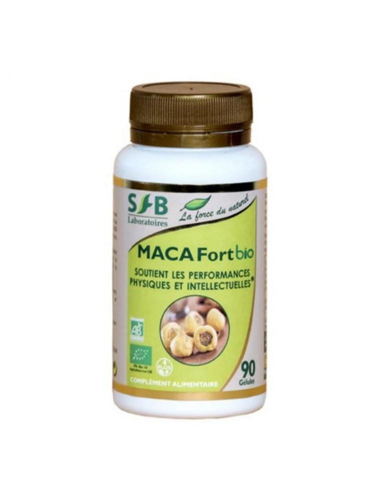 Maca Fort Bio - Tonus et Performances 90 gélules - SFB Laboratoires