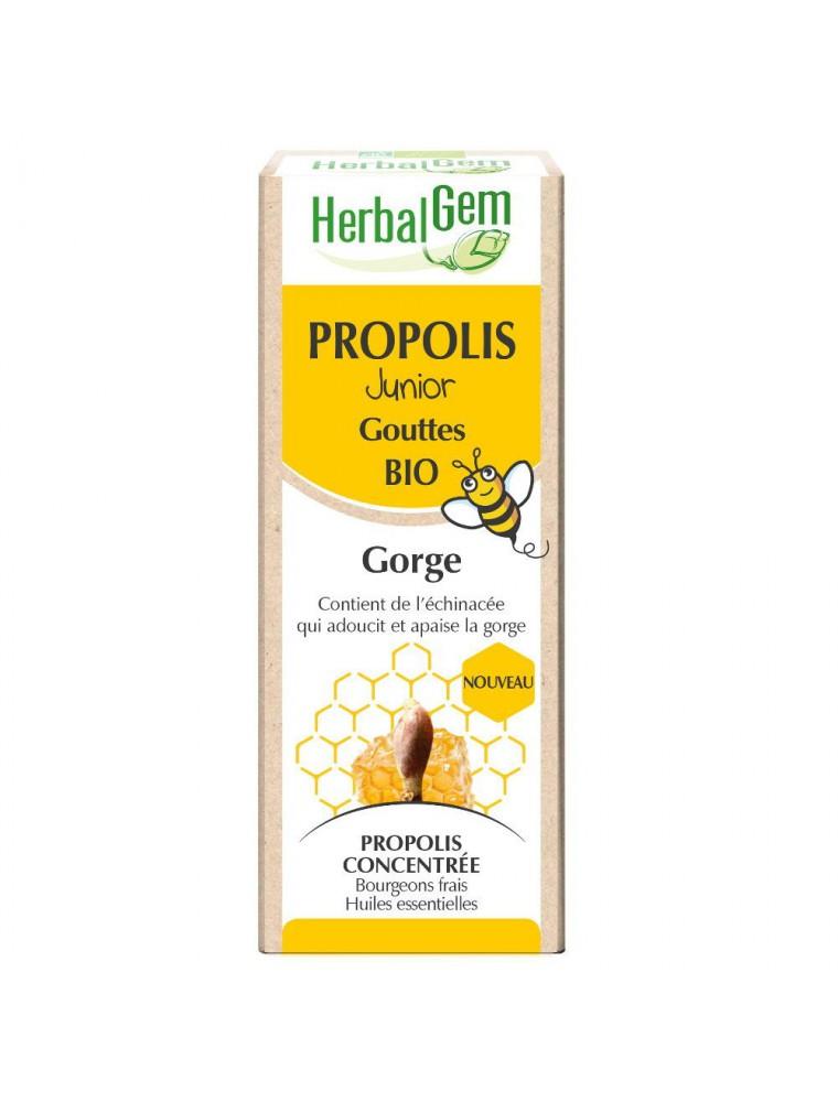 Propolis Bio Junior - Système respiratoire 15 ml - Herbalgem