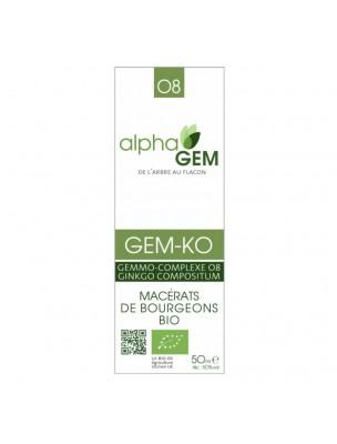 Image de Gem-Ko Complexe n°08 Bio - Concentration 50 ml - Alphagem depuis ▷ Ail des ours Bio - Circulation Teinture-mère d'Allium ursinum 50