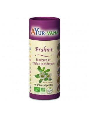 Brahmi Bio - Mémoire 60 gélules - Ayur-Vana