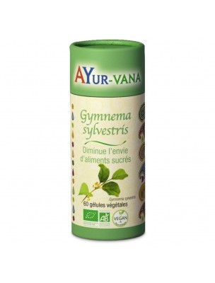 Gymnema sylvestris Bio - Glycémie normale 60 gélules - Ayur-Vana