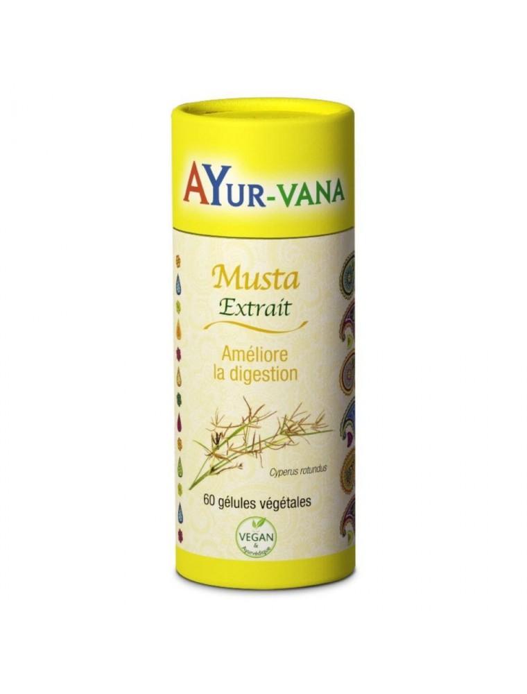 Musta - Digestion 60 gélules - Ayur-Vana