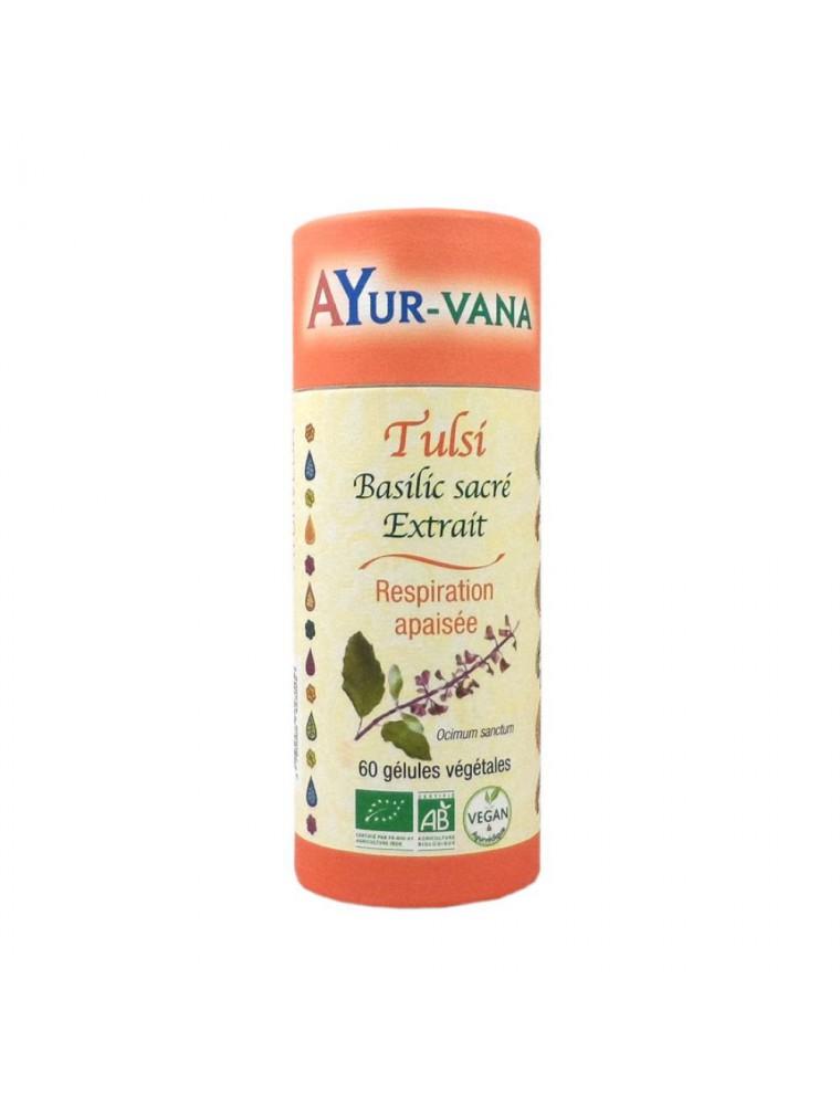 Tulsi Bio - Respiration 60 gélules - Ayur-Vana