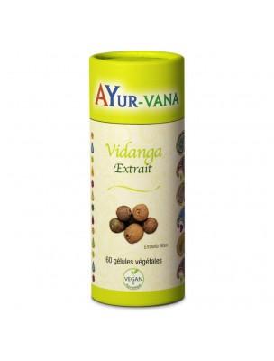 Vidanga - Défenses naturelles 60 gélules - Ayur-Vana