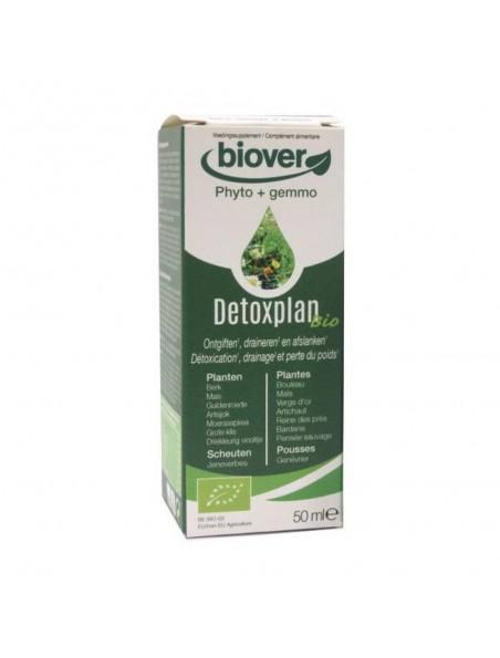 Detoxplan Bio - Détoxication, drainage et perte de poids 50 ml - Biover