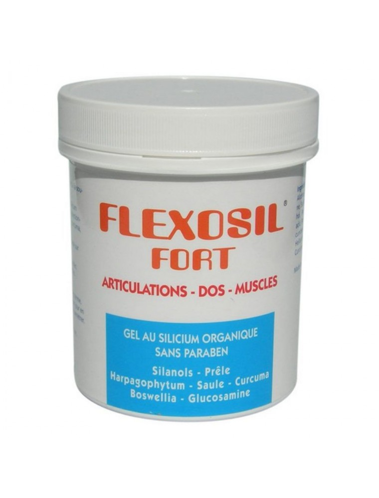 Flexosil Fort - Gel de massage au Silicium  organique 200 ml - Nutrition Concept