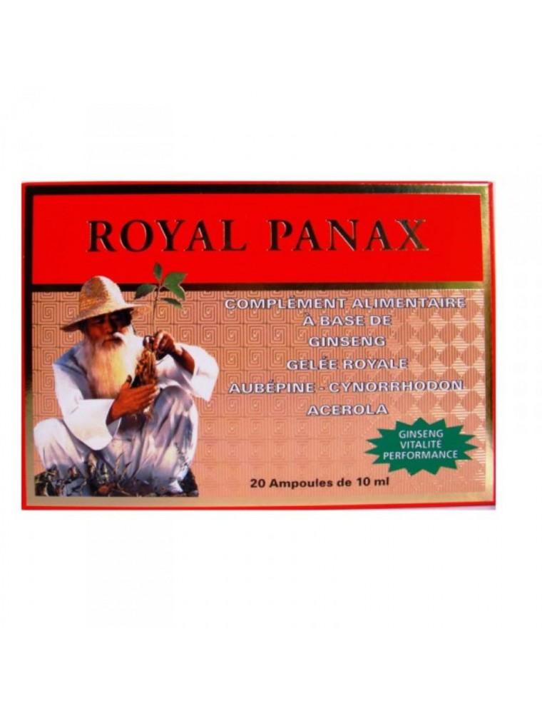 Royal Panax - Dynamisant général 20 ampoules - Nutrition Concept