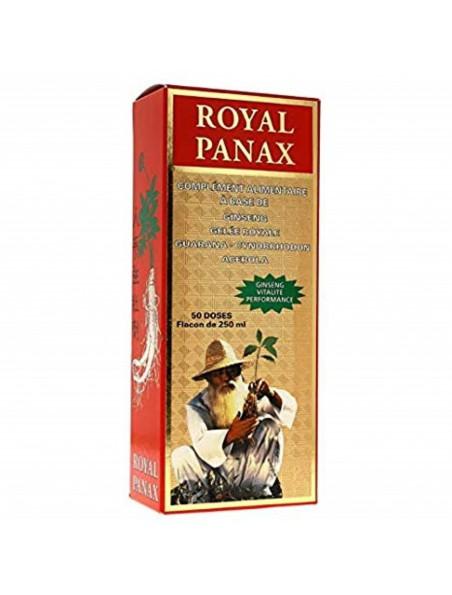 Royal Panax - Dynamisant général flacon de 250 ml - Nutrition Concept