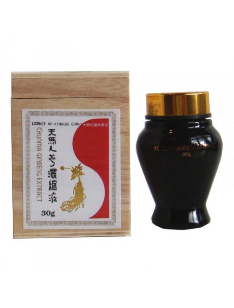 Extrait de Ginseng pur en pâte dans sa jarre - Tonus et vitalité 30g - Nutrition Concept