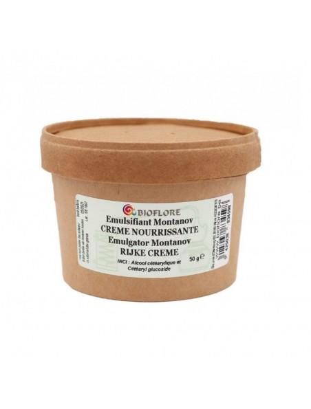 """Emulsifiant pour crème de jour - """"Montanov"""" huile dans eau 50g - Bioflore"""