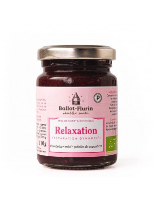 Miel Relaxation Bio - Relaxation 110g - Ballot-Flurin