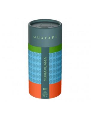 Muirapuama Bio poudre - Tonique sexuel 50 g - Guayapi