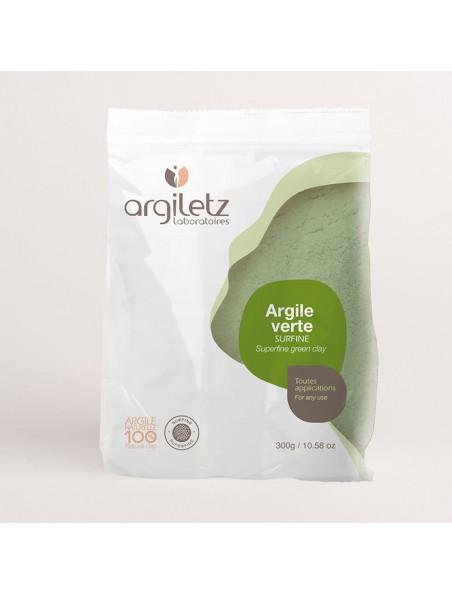 Argile verte surfine - 300g - Argiletz