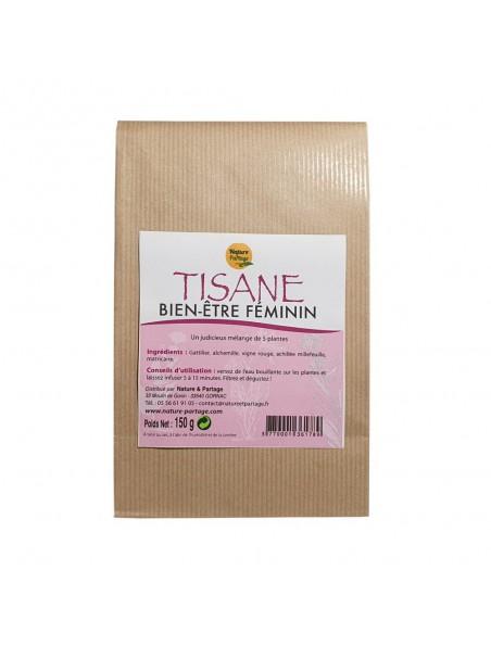 Tisane Bien-être féminin - Tisane 150 grammes - Nature et Partage