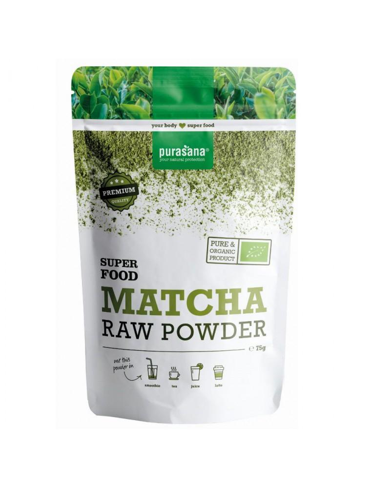 Matcha Bio - Vitalité Super Food 75g - Purasana