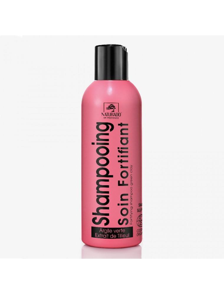 Shampooing Cheveux fragiles bio - Argile verte et Tilleul 200 ml - Naturado