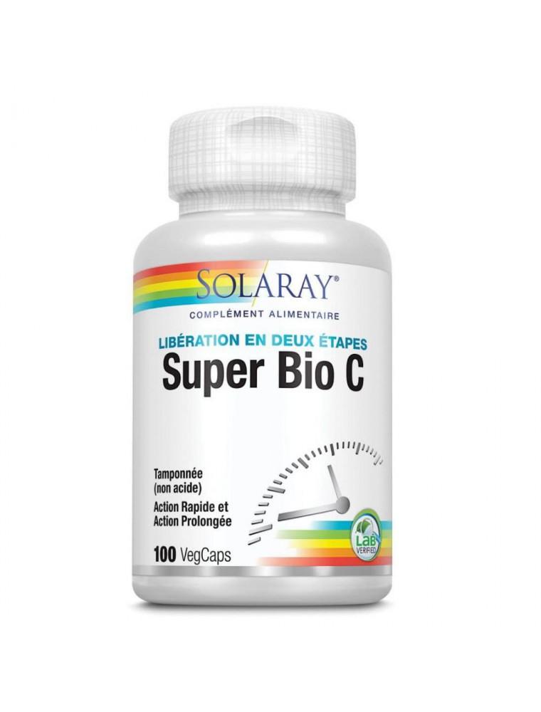 Super Bio C  tamponnée - Vitamine C 100 capsules - Solaray