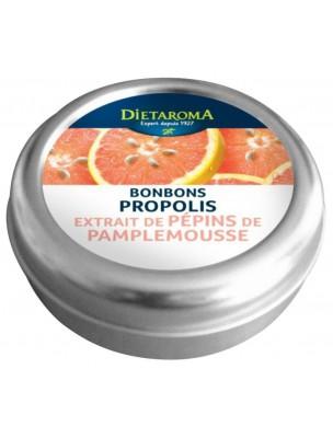 Propolis et Extrait de pépins de pamplemousse Bonbons - Immunité 50 g - Dietaroma