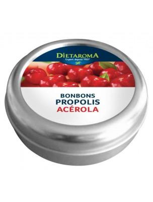 Propolis et Acérola Bonbons - Immunité 50 g - Dietaroma