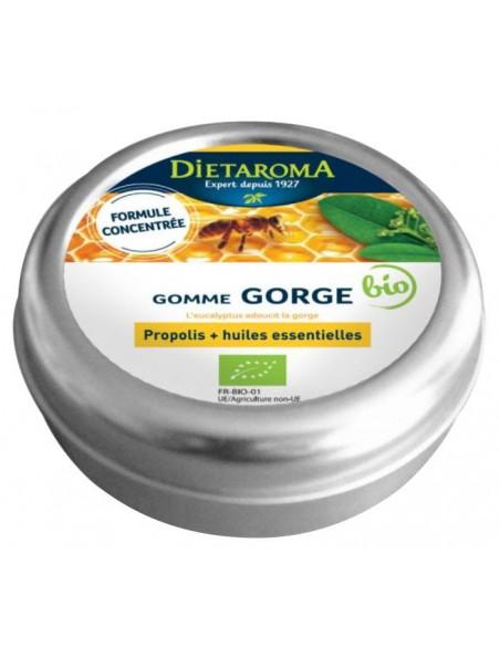 Propolis Gommes Bio - Pour la gorge 40 g - Dietaroma
