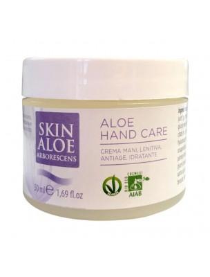 Crème pour les mains à l'Aloé arborescens  - Nourrit et hydrate 50 ml - Teo Natura