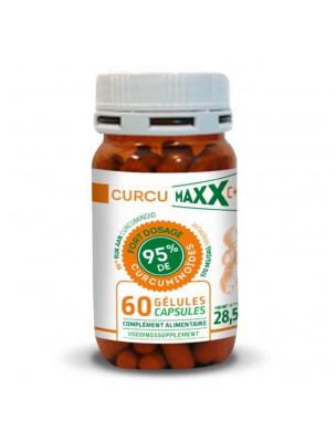 Curcumaxx C+ Bio 95% - Curcuma 60 gélules - Curcumaxx