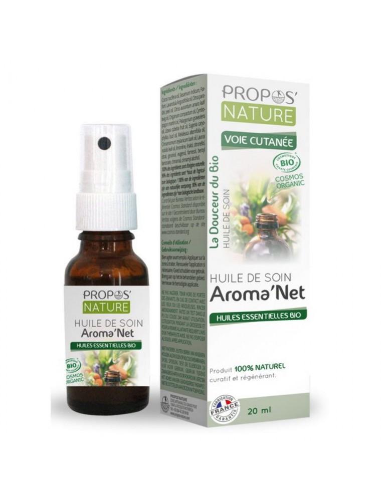 Aroma'Net Huile de Soin Bio - Peau 20 ml - Propos Nature