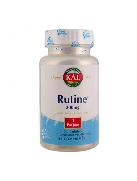 Rutine 200 mg - Circulation 60 comprimés - KAL