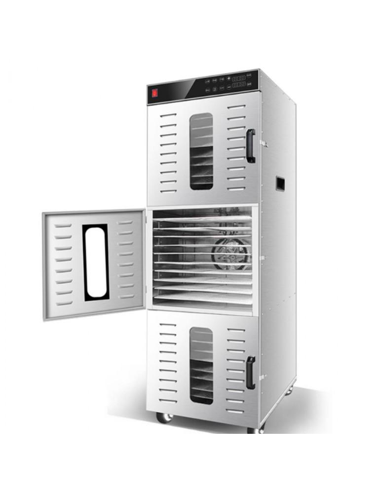 Déshydrateur Inox Pro 2400 W 36 grilles 40x38 cm à commande digitale