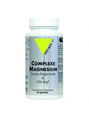 Complexe Magnésium - Détente 60 gélules - Vit'all+