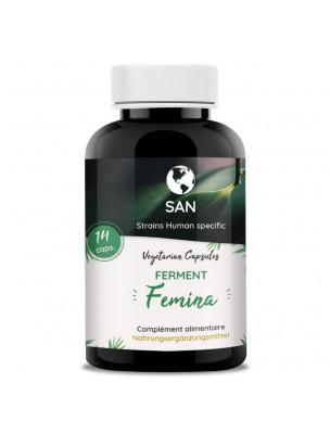 Probiotiques Femina - Flore intestinale et vaginale 14 gélules - San