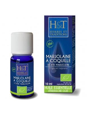 Marjolaine à coquilles Bio - Huile essentielle d'Origanum majorana 10 ml - Herbes et Traditions