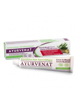 Dentifrice ayurvédique Bio - Ayurvenat 75 ml - Le Secret Naturel