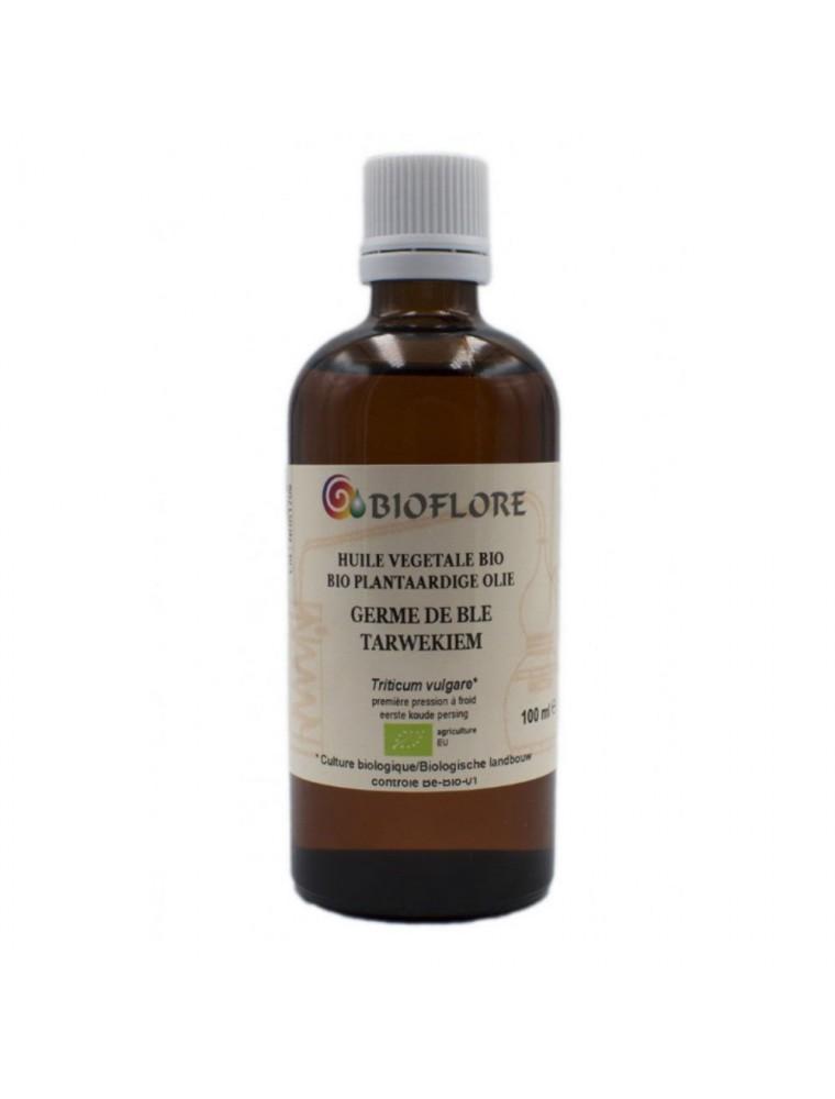Huile végétale de Germe de Blé Bio - Extrait CO2 Ingrédient anti-âge 100 ml - Bioflore