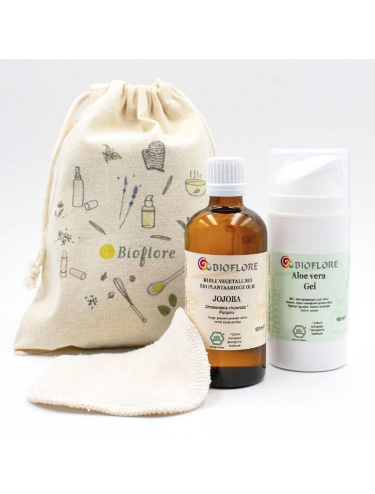 Kit routine visage slow Bio - Jojoba et Aloe vera - Bioflore