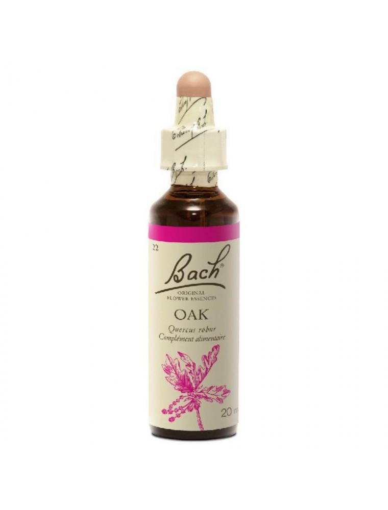 Oak (Chêne) N°22 - Bourreau de travail 20ml - Fleurs de Bach Original