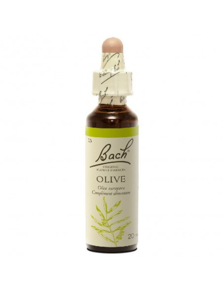 Olive (Olivier) N° 23 - Epuisement total 20ml - Fleurs de Bach Original