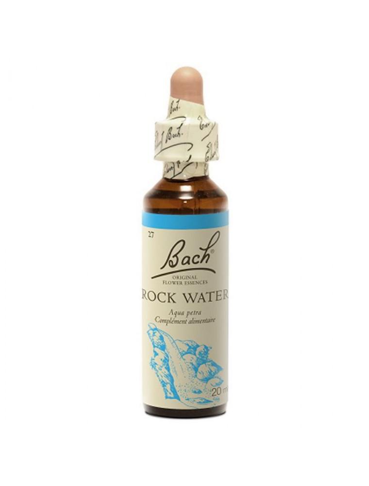 Rock Water (Eau de Roche) N° 27 - Dur envers soi 20ml - Fleurs de Bach Original