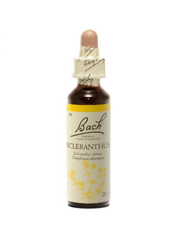 Scleranthus (Alène) N° 28 - Incertitude 20ml - Fleurs de Bach Original