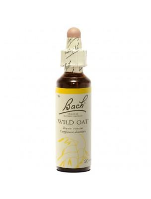 Wild Oat (Folle avoine) N° 36 - Incertitude 20ml - Fleurs de Bach Original