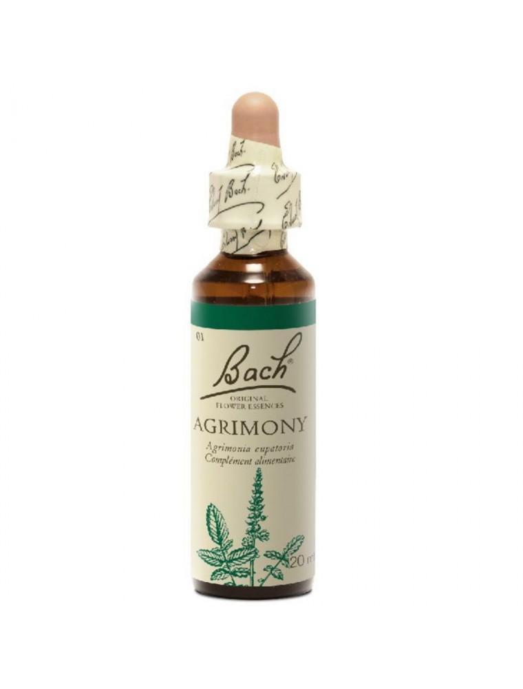 Agrimony (Aigremoine) N°1 - Cache ses soucis 20 ml - Fleurs de Bach Original