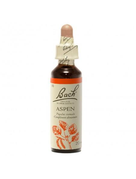 Aspen (Tremble) N°2 - Crainte imprécise 20 ml - Fleurs de Bach Original