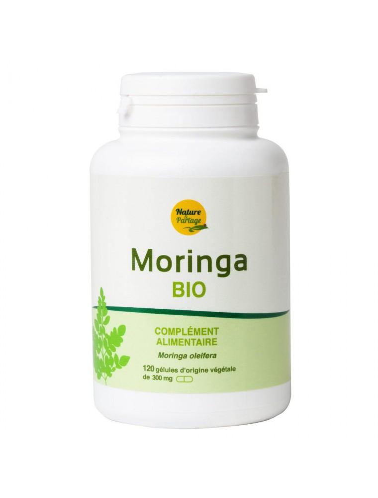 Moringa Bio - Défenses naturelles 120 gélules végétales - Nature et Partage