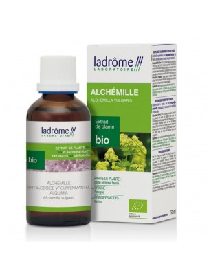 Alchémille Bio - Cycle menstruel Teinture-mère d'Alchemilla vulgaris 50 ml - Ladrôme