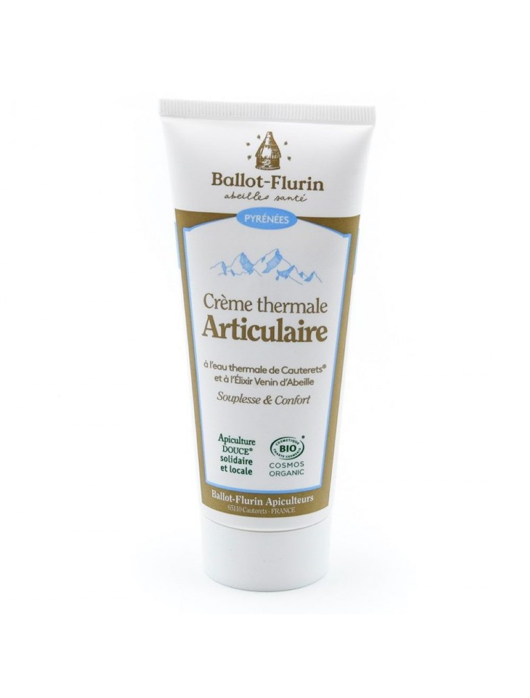 Crème Thermale Articulaire Bio - Articulations 100 ml - Ballot-Flurin