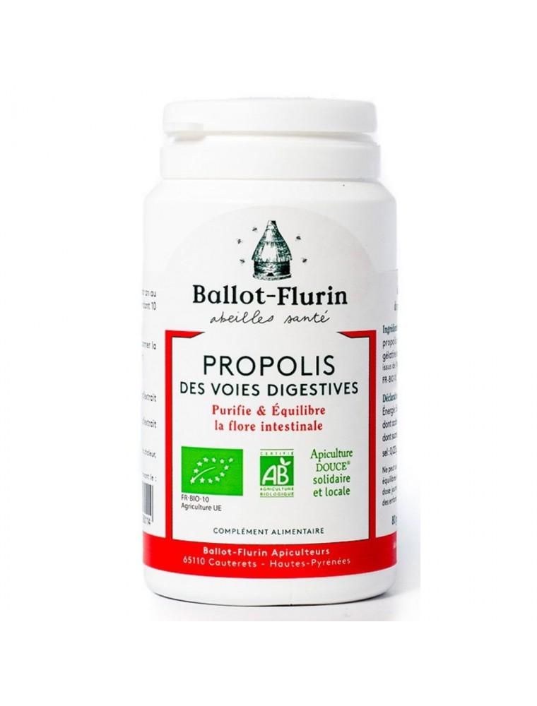 Propolis des voies digestives Bio - Flore intestinale 80 gélules - Ballot-Flurin