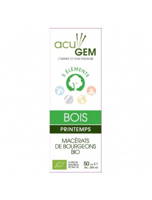 Acugem Bois Bio - Printemps 50 ml - Alphagem