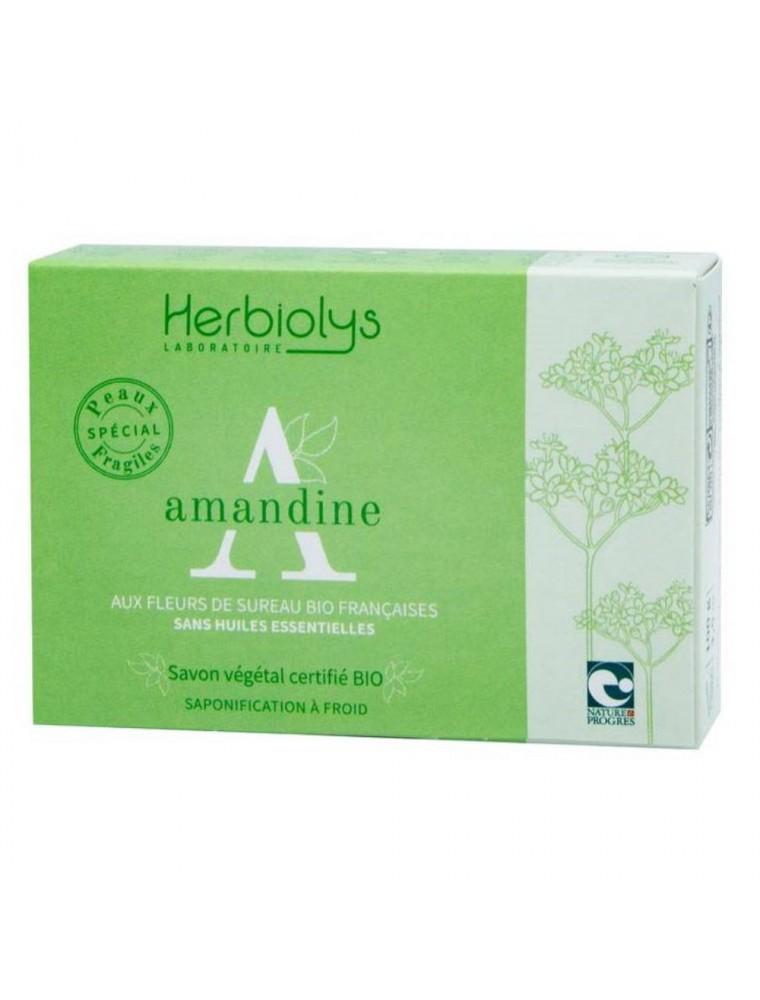 Savon Amandine Bio - Sureau 100G - Herbiolys