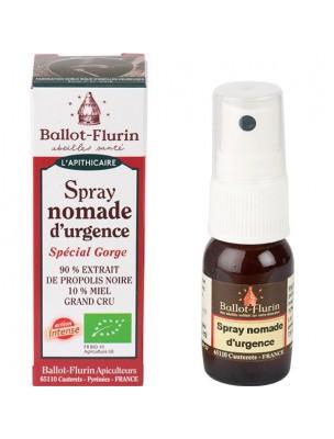 Spray Nomade d'Urgence - Pour la gorge 15 ml - Ballot-Flurin